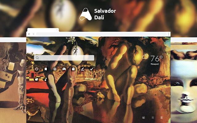 Salvador Dali HD Wallpapers New Tab
