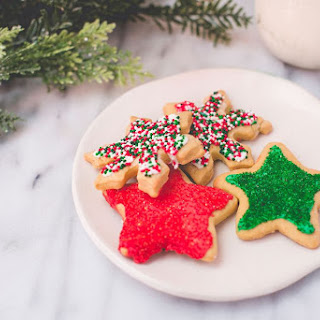 Low-Fat Holiday Sugar Cookies.