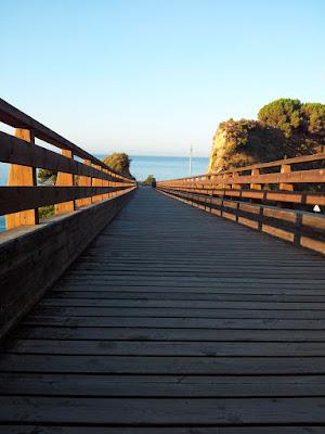 CALELLA - Footbridge Fusta
