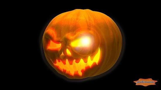 Mysterious Scary 3D Pumpkin - náhled