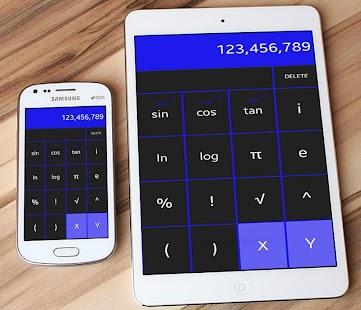 Calculator Super calcula calc scientific + / - = x - náhled