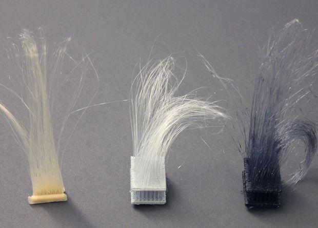 На 3D-принтере научились печатать волосы