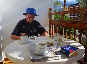 Photo: A bit of spanish reading...