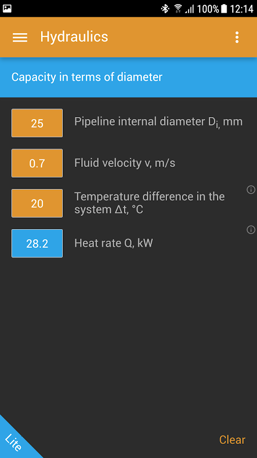 hvac calculator lite android apps on google play