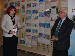 Photo: Gabriela Rusu-Pasarin si Constantin Oprisiu