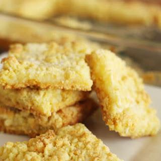 Cream Cheese Lemon Bars.