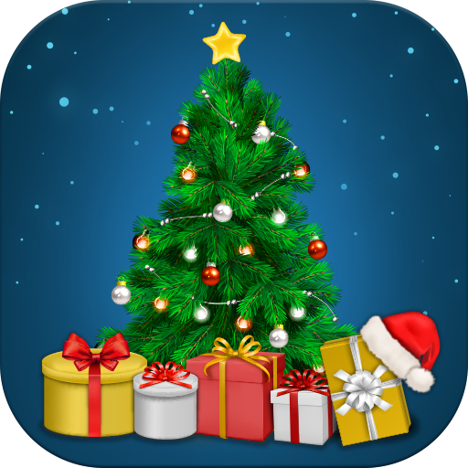 Christmas Photo Stickers Icon