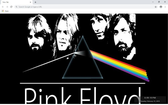 Pink Floyd New Tab & Wallpapers Collection