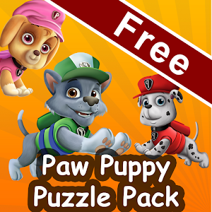 Paw Puppy Puzzle Pack Patrol for PC and MAC