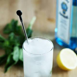 Basil Gin Fizz.