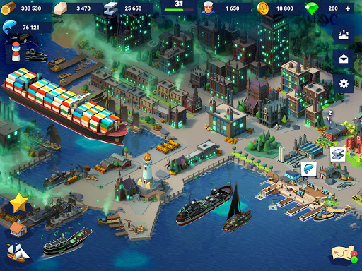 Sea Port: Ship Trade and Strategy Simulator - screenshot