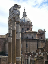 Photo: The Roman Forum, I really liked this view of it