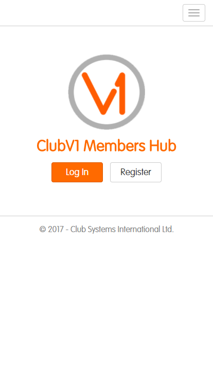ClubV1 Members Hub- screenshot