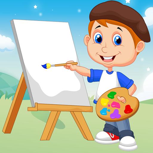 Belajar Mewarnai Gambar lucu