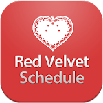 Red Velvet Schedule Icon