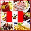 Peruvian cuisine icon