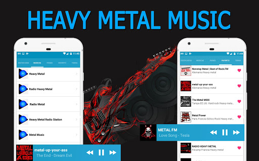 Música Heavy Metal: capturas de pantalla de Heavy Metal Radio 1