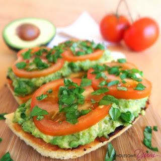 Tomato Basil Avocado Toast (Paleo, Low Carb)