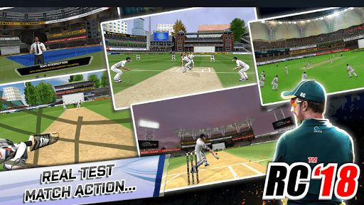 Real Cricket™ 18  captures d'écran 1
