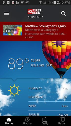 玩免費天氣APP|下載WALB First Alert Weather app不用錢|硬是要APP