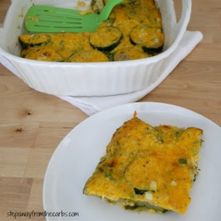 Low Carb Zucchini Bake.