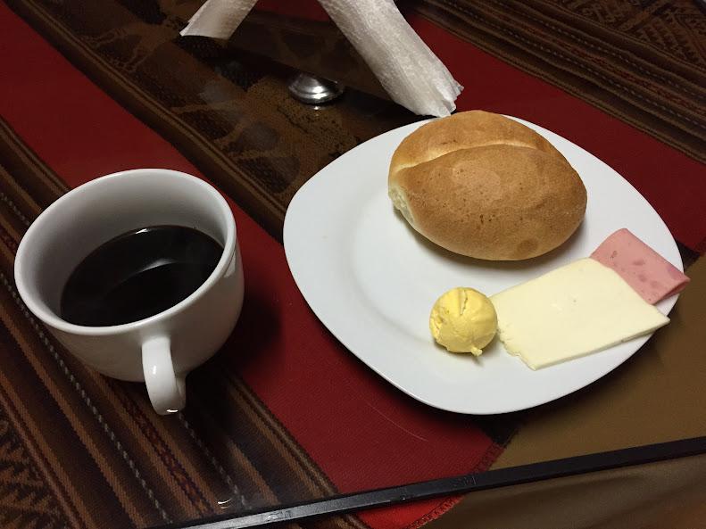 Inkas Tarabanba Hotel 朝食