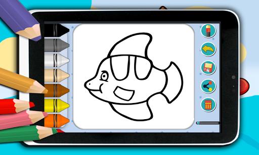 無料娱乐Appの色の海の動物 記事Game