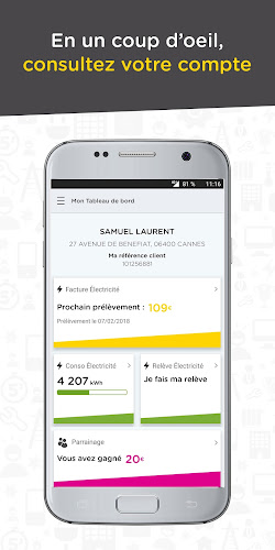 Direct Energie Android App Screenshot