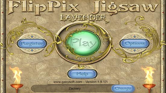 FlipPix Jigsaw - Lavender- screenshot thumbnail