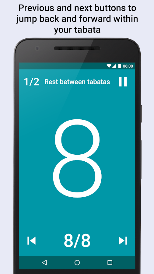 Tabata timer Interval timer- screenshot