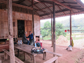 Photo: Our bamboo hut