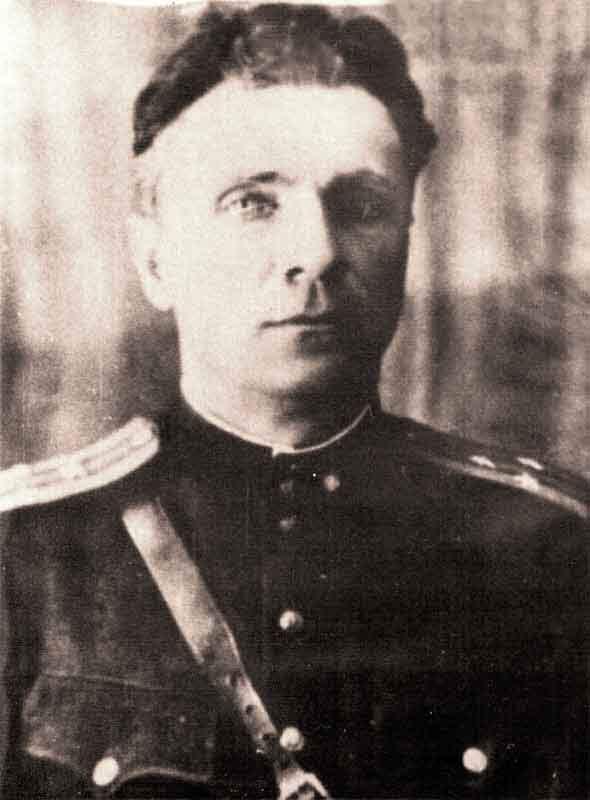 Будыхин П.К. - командир 35 осбр
