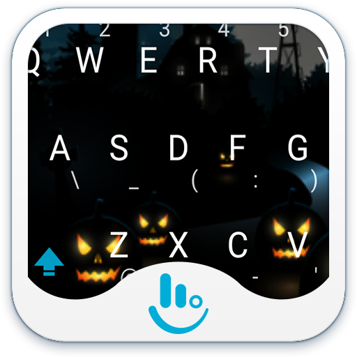 Night Pumpkin Keyboard Theme 生活 App LOGO-硬是要APP