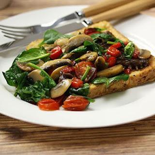 Savoury Vegetarian French Toast Recipe