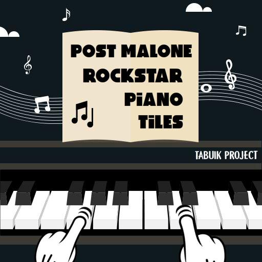 Post Malone Rockstar Piano Tiles