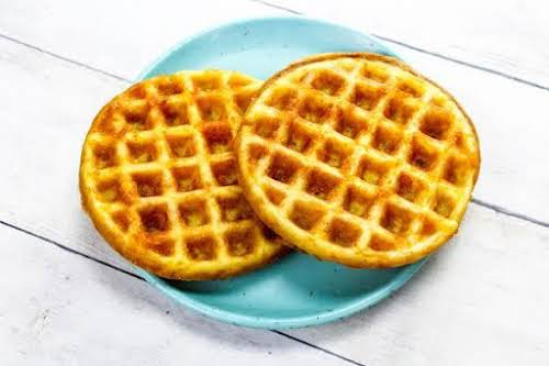 """Crispy Keto Chaffles """"If following a Keto lifestyle or simply going low..."""