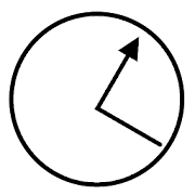 Employee Time Punch Clock  Icon