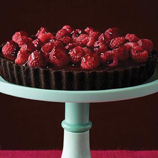 Chocolate Raspberry Tart.