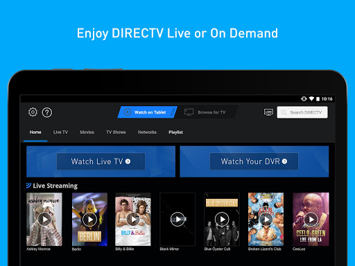 DIRECTV for Tablets 5.8.005 screenshots 1