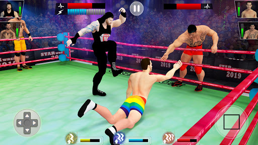 Tag Team Wrestling Game 2020: Cage Ring Fighting screenshots 1