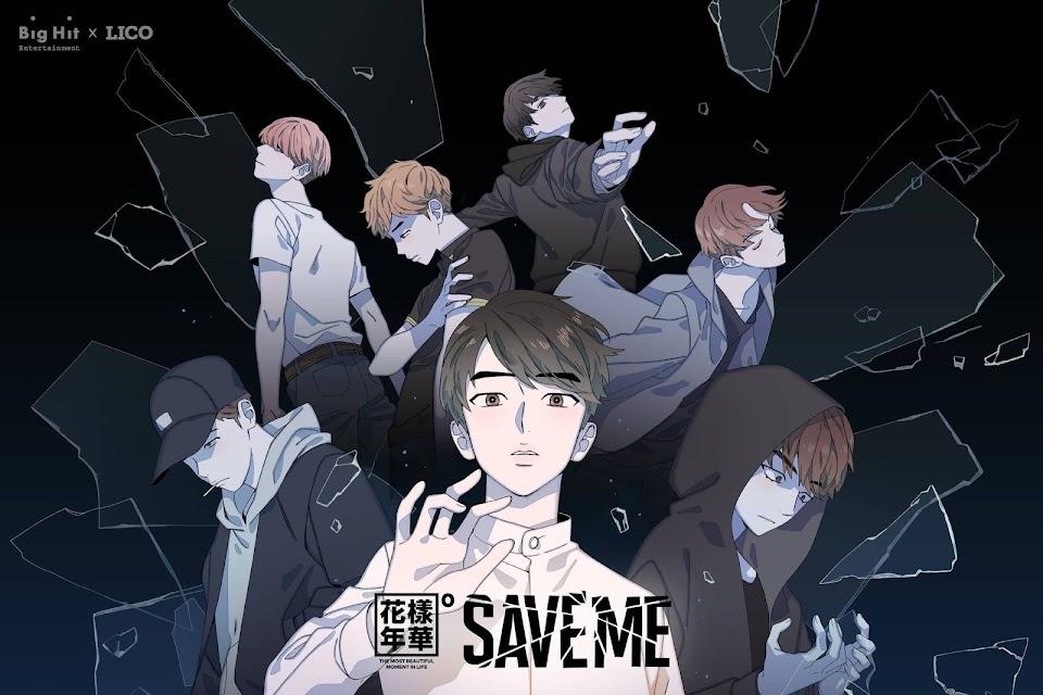 bts save me webtoon