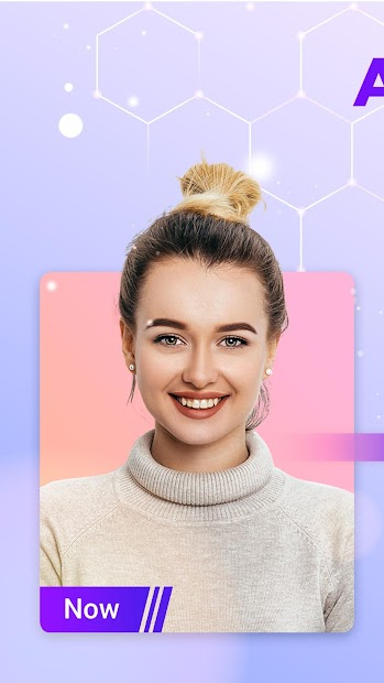 HiddenMe - Face Aging App, Face Scanner Android App Screenshot
