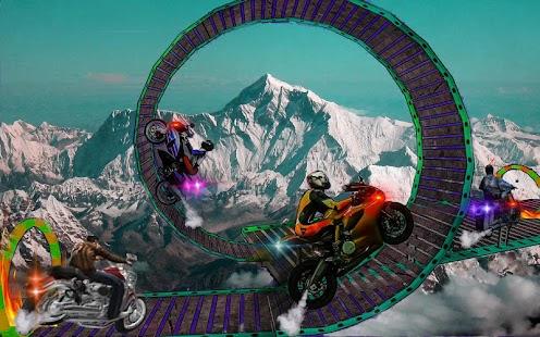 Moto Bike Tricks Stunts Master : Winter Trials - náhled
