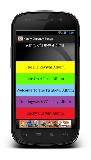 Kenny Chesney Songs
