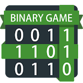 Binary Grid Puzzle - Math game
