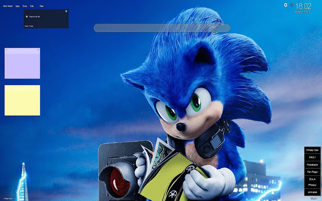 Sonic The Hedgehog Movie Wallpapers Tab