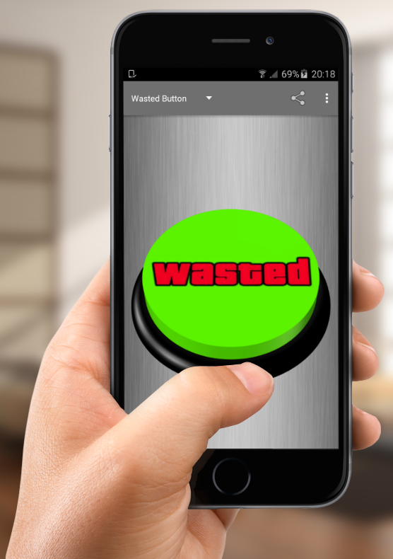 Wasted Button- screenshot