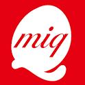 東京・埼玉・新潟に展開の美容室miq (ミック)の公式アプリ icon