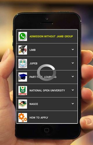 Admission without JAMB- screenshot