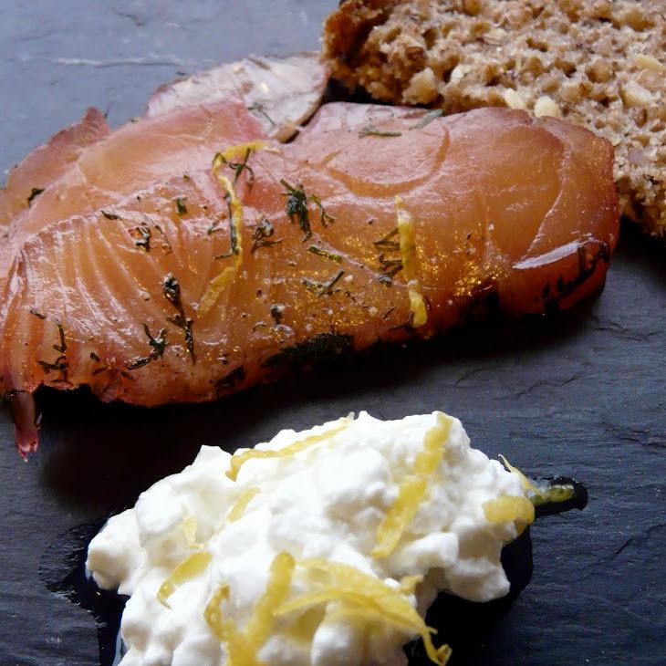 Orange-cured Salmon